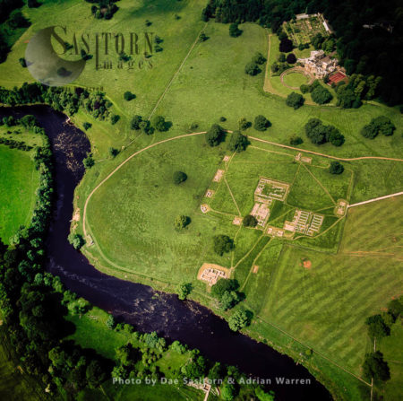 Chesters Roman Fort And Museum (a Fort On Hadrian's Wall, Near Village Of Walwick, Northumberland
