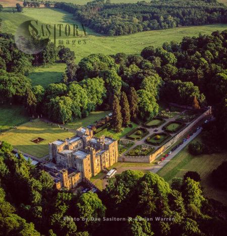 Chillingham Castle, A Medieval Castle, Chillingham, Northumberland, England