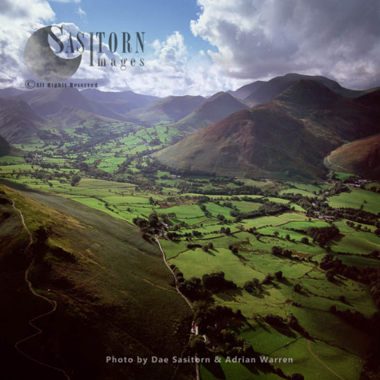 Newlands Valley, Lake District, Cumbria