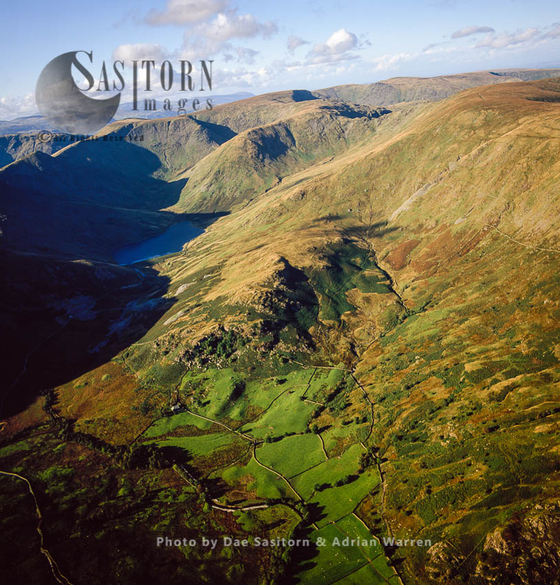 Kentmere Reservoir And Kentmere Valley,  Lake District National Park, Cumbria, England