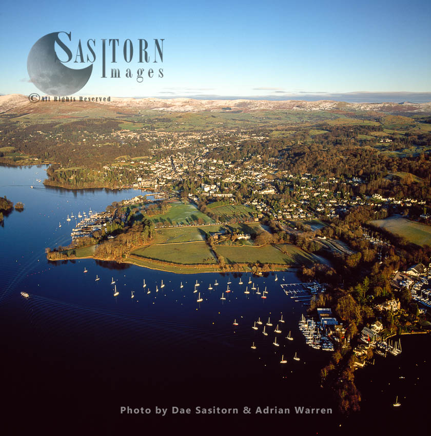 Storrs And Bowness-on-Windermere, Lake Windermere, Lake District National Park, Cumbria