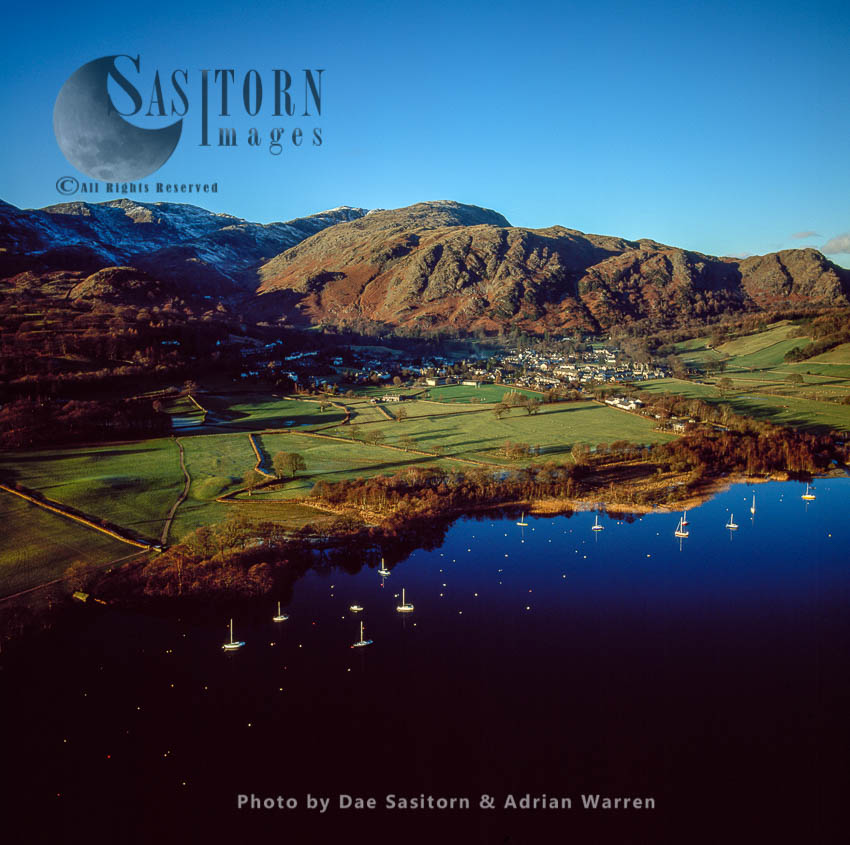 Coniston Water And The Old Man Of Coniston, Lake District National Park, Cumbria