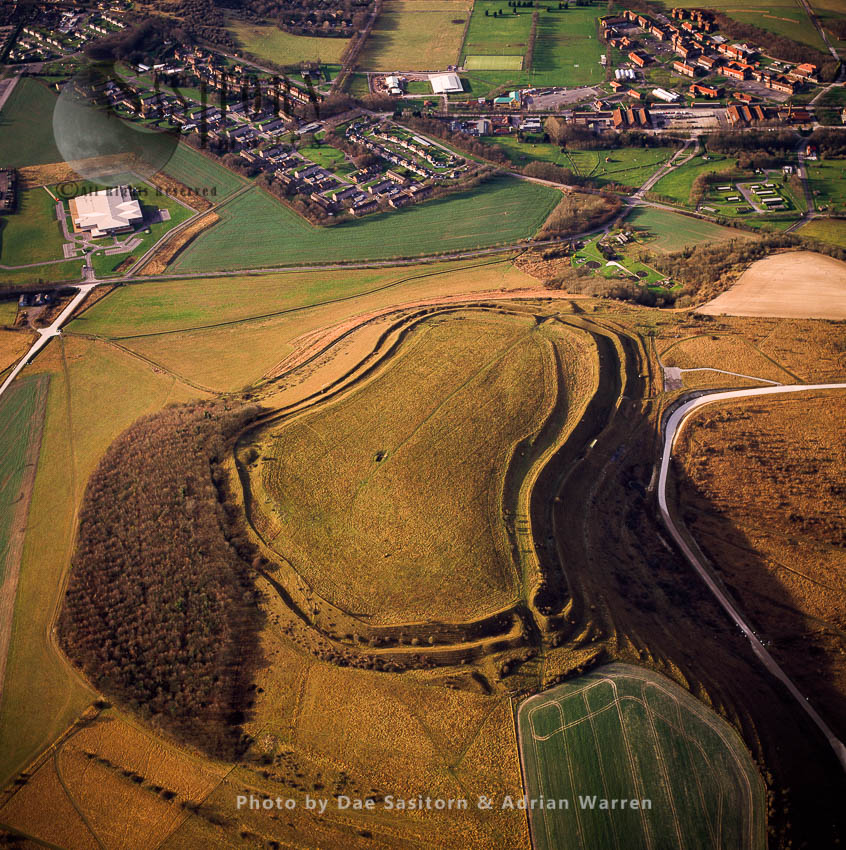 Battlesbury Hill Fort, Wiltshire, England