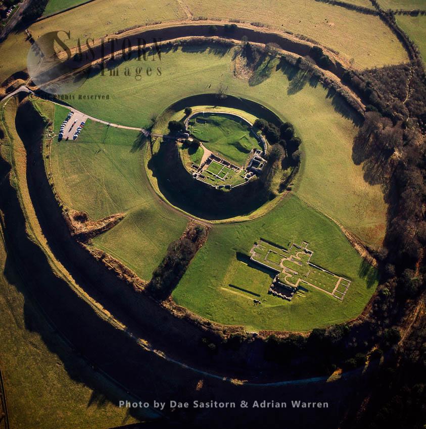 Old Sarum, Prehistory Site, Salisbury, England