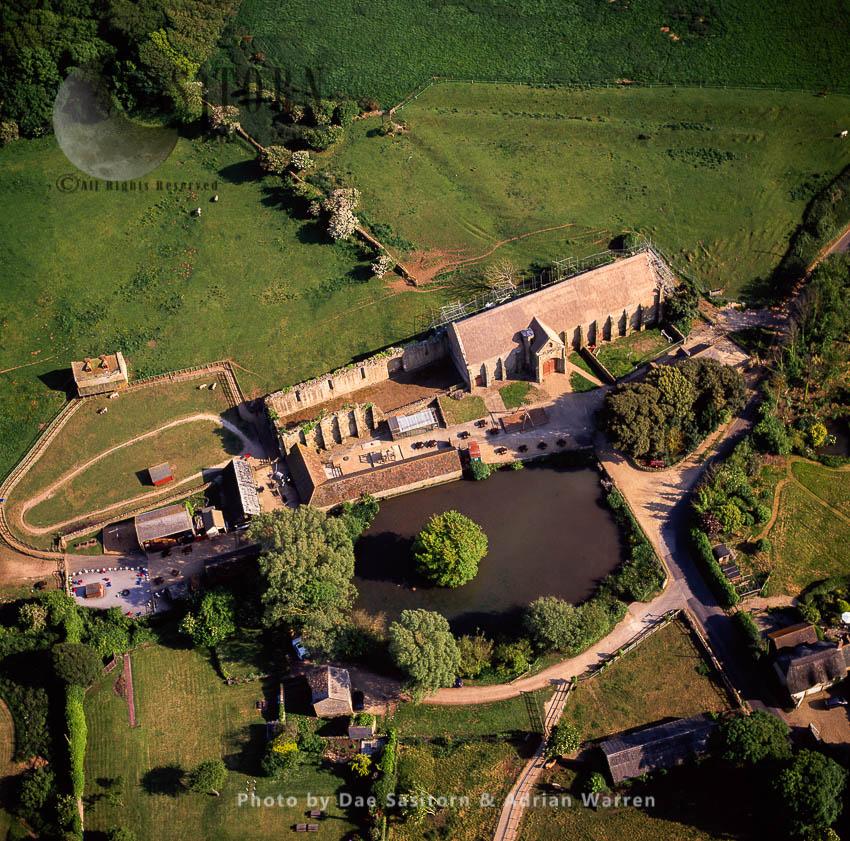 Abbotsbury Abbey Barn, Abbotsbury, Dorset, England