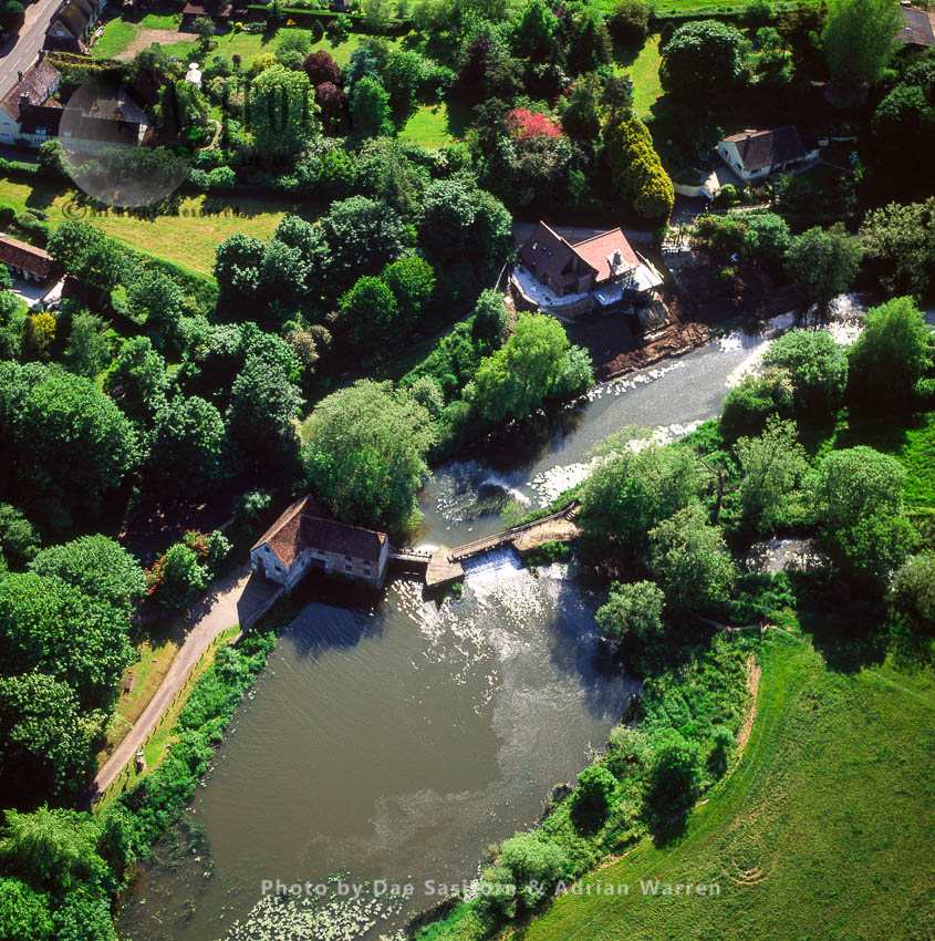 Sturminster Newton Mill, A Working Mill, On The River Stour, Dorset, England