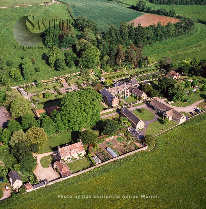 Mapperton House And Gardens, Beaminster, Dorset, England