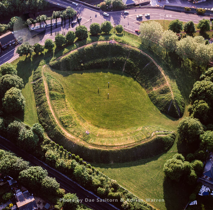 Maumbury Rings, A Neolithic Henge And Roman Amphitheatre, South Of Dorchester, Dorset