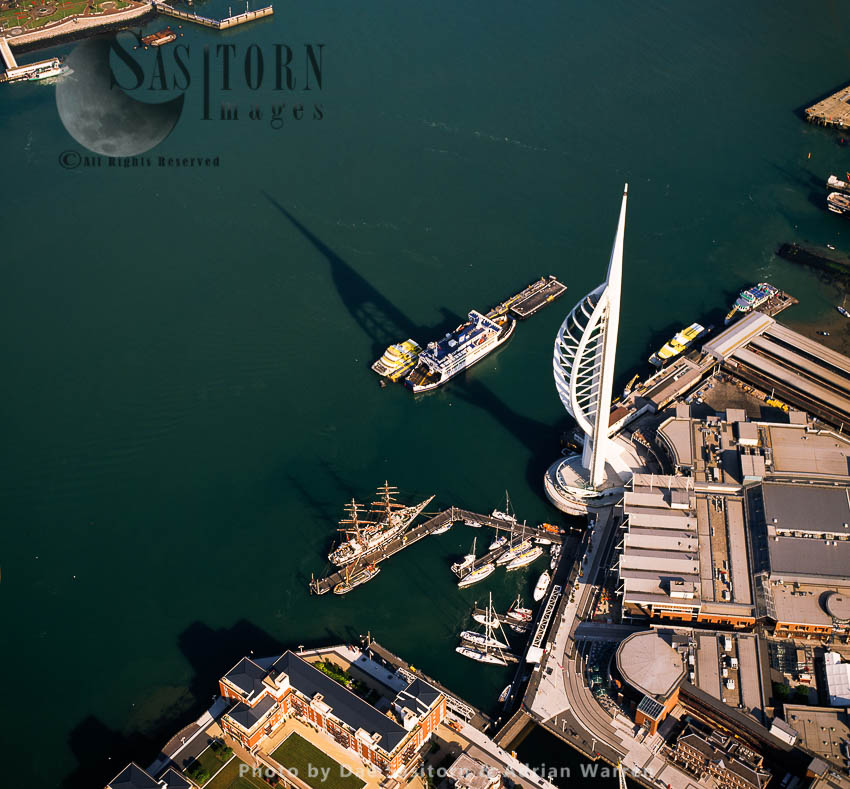 Spinnaker Tower, Portsmouth Harbour, Hampshire