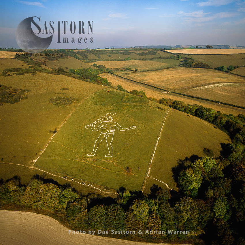 Giant Of Cerne Abbas, Dorset, England