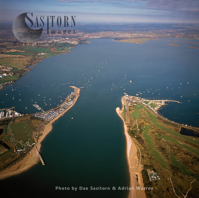 Langstone Harbour, West Of Portsmouth, Hampshire