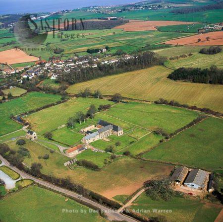 Cleeve Abbey, A Medieval Monastery  Near Village Of Washford, Somerset