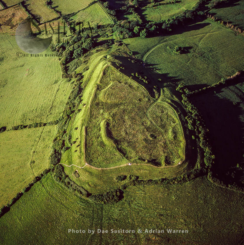 Brent Knoll Camp, An Iron Age Hillfort, Somerset, England