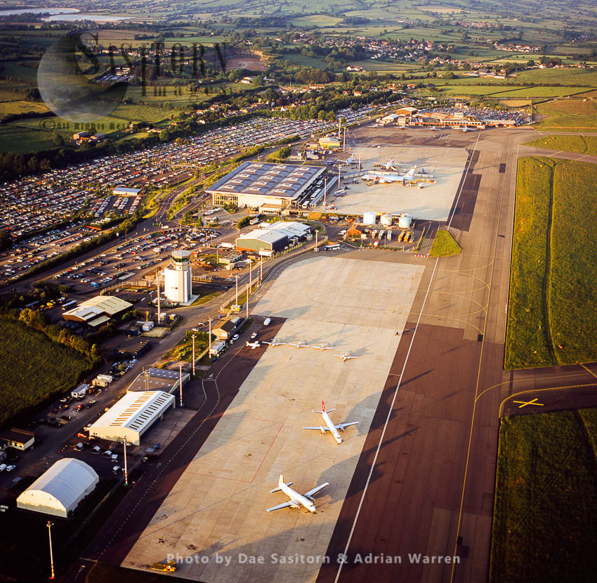 Bristol International Airport, Bristol, Somerset, England