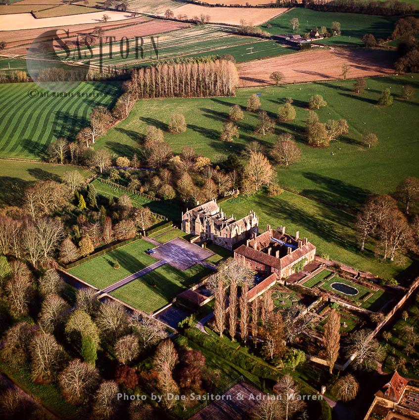 Barrington Court House And Garden, Somerset, England