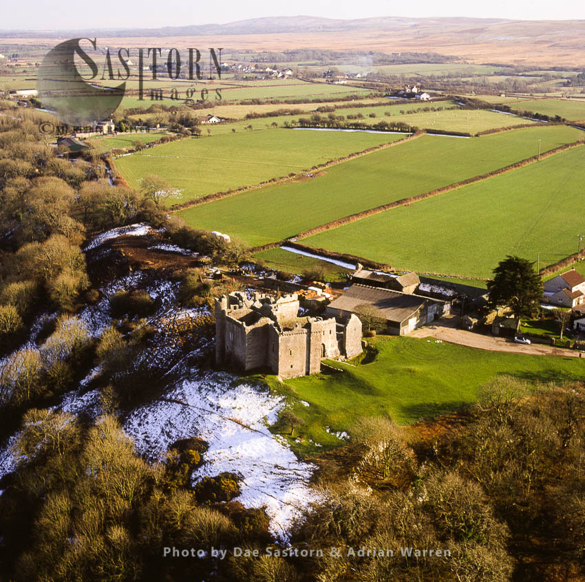 Weobley Castle, Gower, South Wales