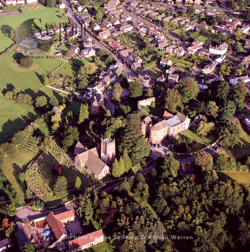 St Briavels Castle, A Moated Norman Castle, St Briavels, Gloucestershire