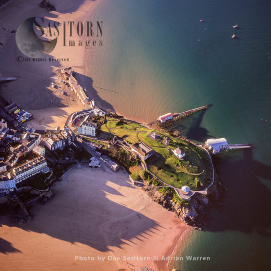 Tenby Castle, On Rocky Headland, West Of Tenby Town Centre, South Wales