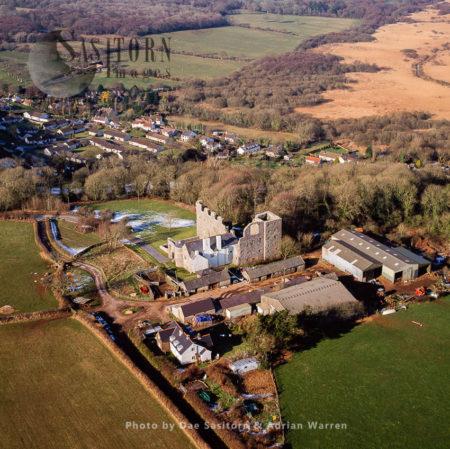 Oxwich Castle, Gower, South Wales