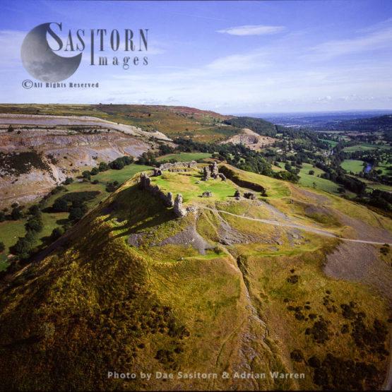 Castell Dinas Bran, Llangollen, Denbighshire, Wales