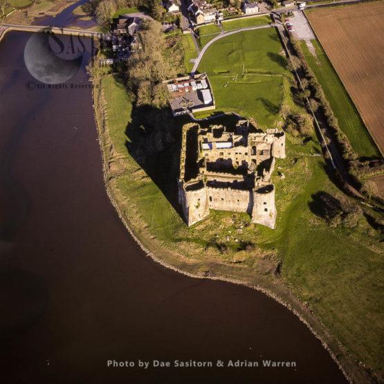 Carew Castle On The Carew River, 3 M E Of Pembroke. Impre, Dyfed, South Wales