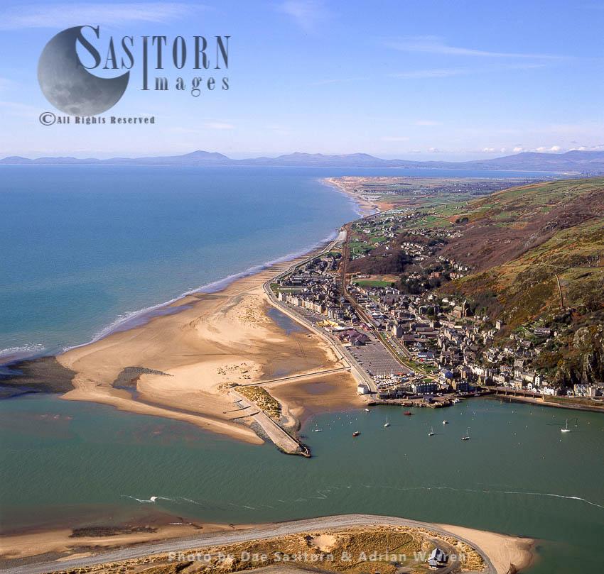Barmouth, Gwynedd, North-western Wales,