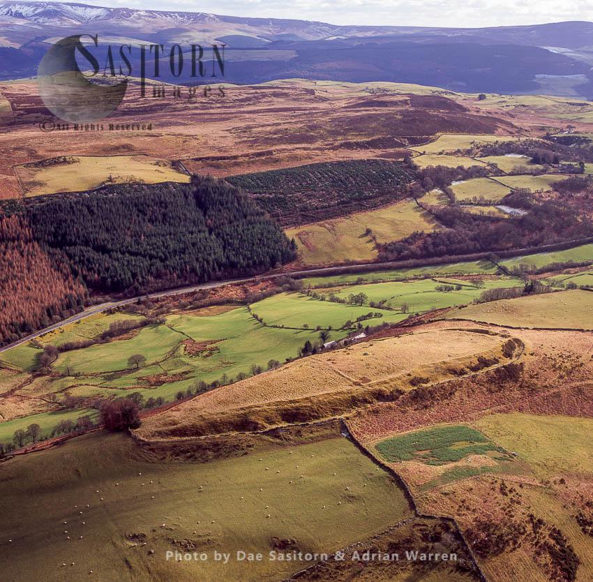 Caer Euni Camp [Caer Eini], An Iron Age Hillfort, Gwynedd, Wales