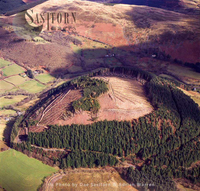 New Warren Hill, South Of Glanrafon, Near Aberystwyth, Wales
