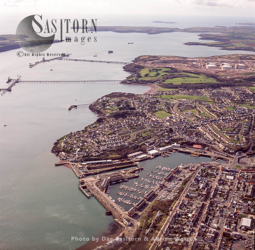 Milford Haven, Pembrokeshire, South Wales