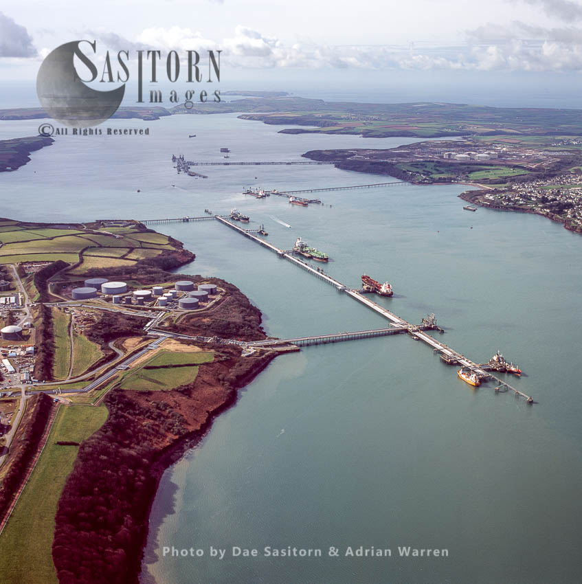 Jetties At Milford Haven, South Wales