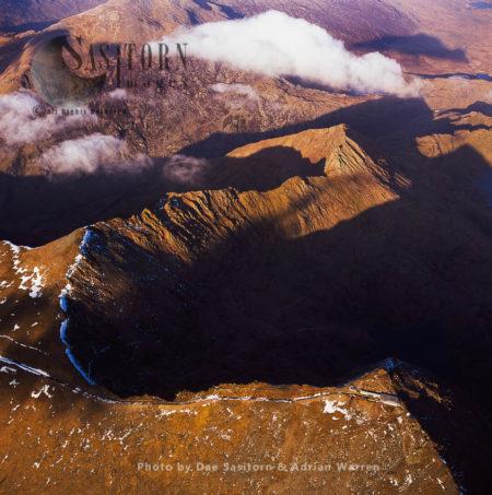 Snowdon, 3561 Feet, Highest Mountain In Wales, Snowd