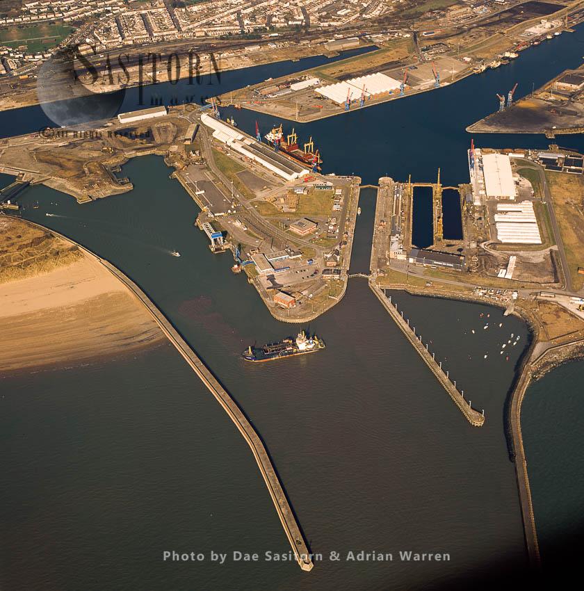 Swansea Docks, Near City Centre, South Coast Of Wales