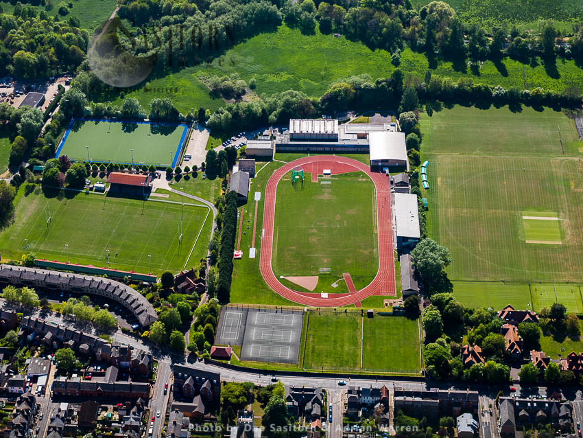 Iffley Road Track,  Roger Bannister Running Track, (Oxford University Track), Is A 400-metres Athletics Running Track And Stadium In Oxford, England