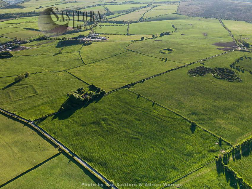 Charterhouse Roman Mining Settlements: Roman Fort, Amphitheatre, Ridges And Furrows And Lead Excavation Sites, Somerset