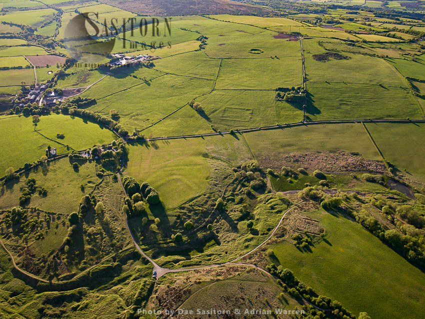 Charterhouse Roman Mining Settlements: 2 Small Forts, Amphitheatre And Lead Excavation Sites, Somerset