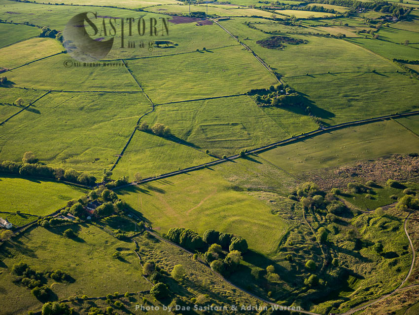 Charterhouse Roman Mining Settlements: 2 Small Forts, Amphitheatre, Ridges And Furrows And Lead Excavation Sites, Somerset