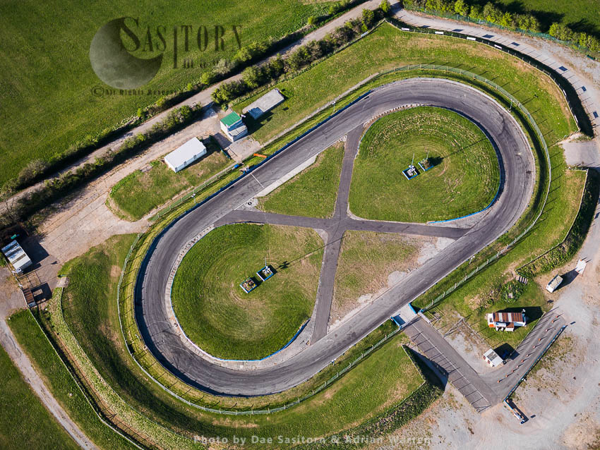 Mendips Raceway, Motorsport Venue, Warrens Hill Road, Cheddar. Somerset, England