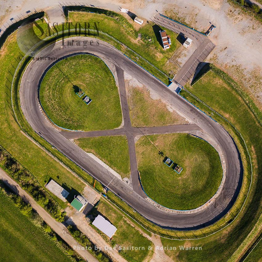 Mendips Raceway,  Warrens Hill Road, Cheddar. Somerset