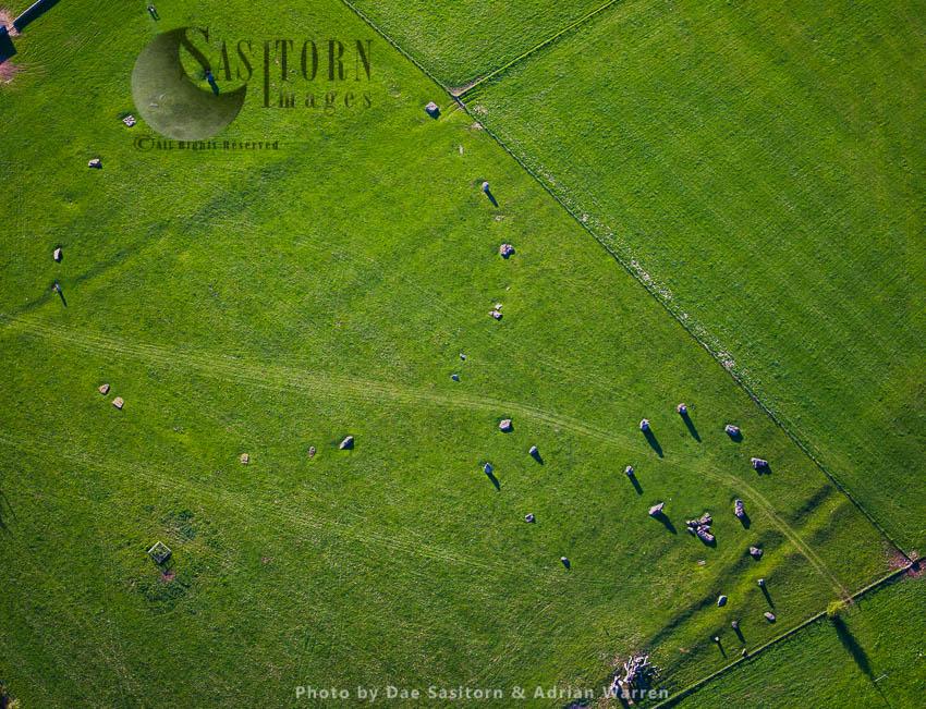 Stanton Drew Stone Circles,  Stanton Drew, Somerset, England