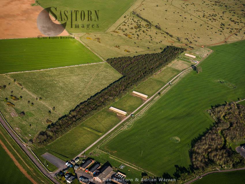Firing Range Mendip, Somerset, England
