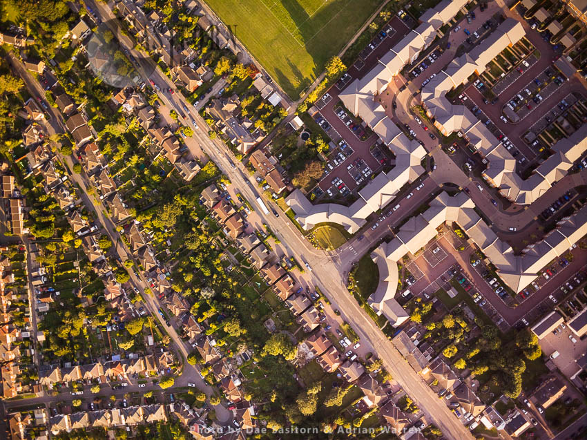 Housing In Swindon, Wiltshire, England