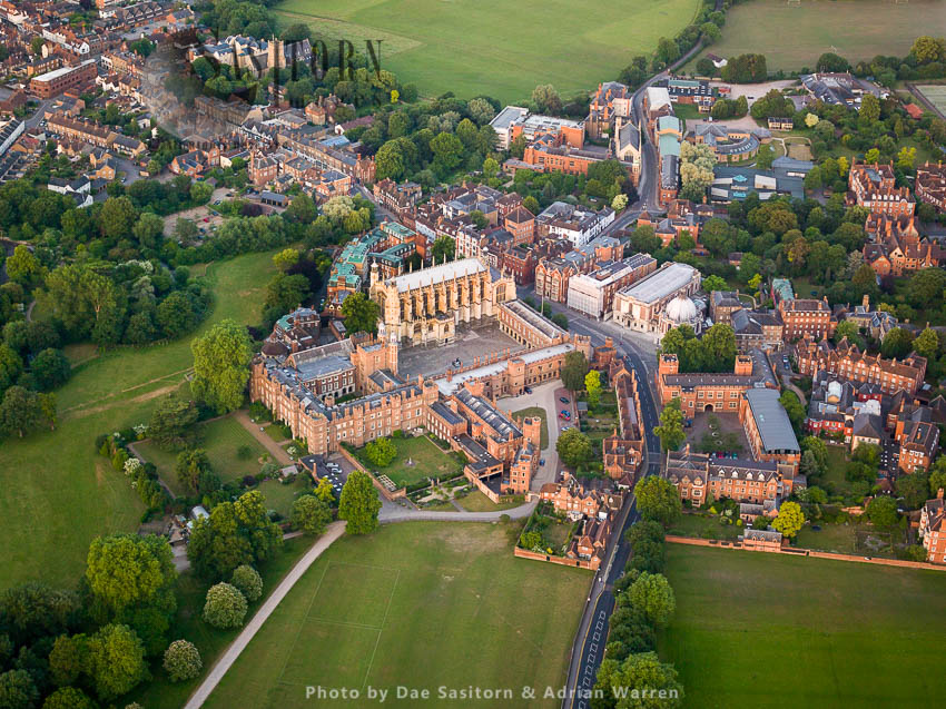 Eton College,  Independent Boarding School For Boys And Eton Historic Town, Near Windsor, West Berkshire