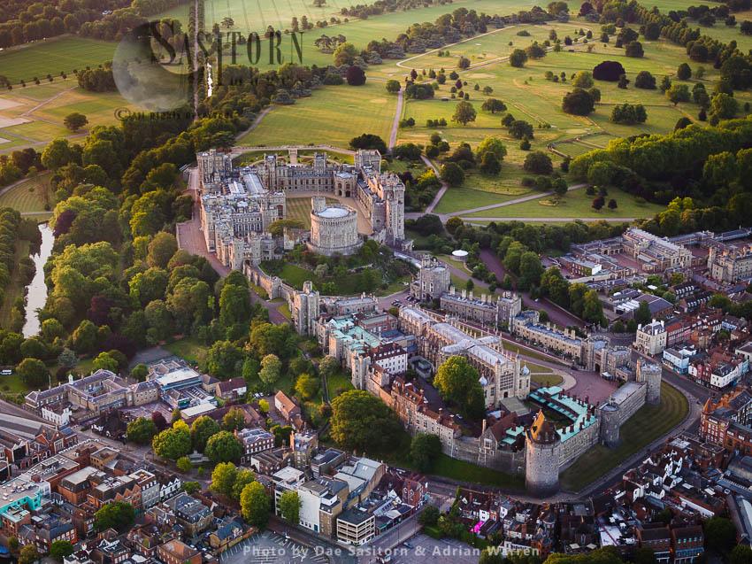 Windsor Castle, A Royal Residence, Windsor, Berkshire, England