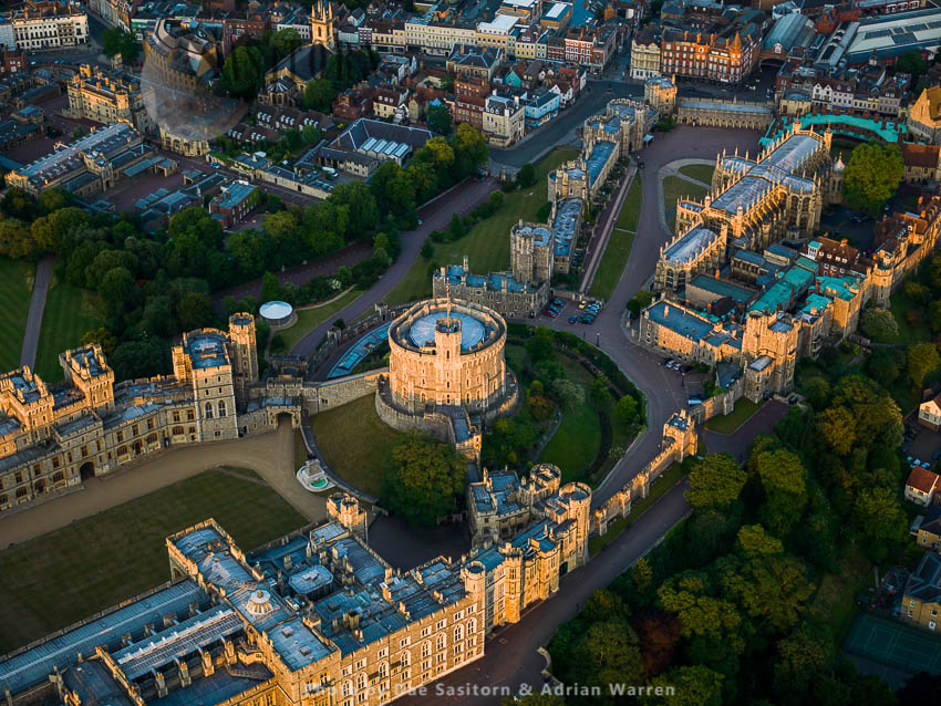 The Round Tower, Windsor Castle, A Royal Residence, Windsor, Berkshire, England