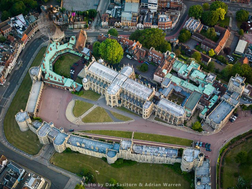 St George's Chapel, On The Lower Ward Side Of Windsor Castle, A Royal Residence, Windsor, Berkshire