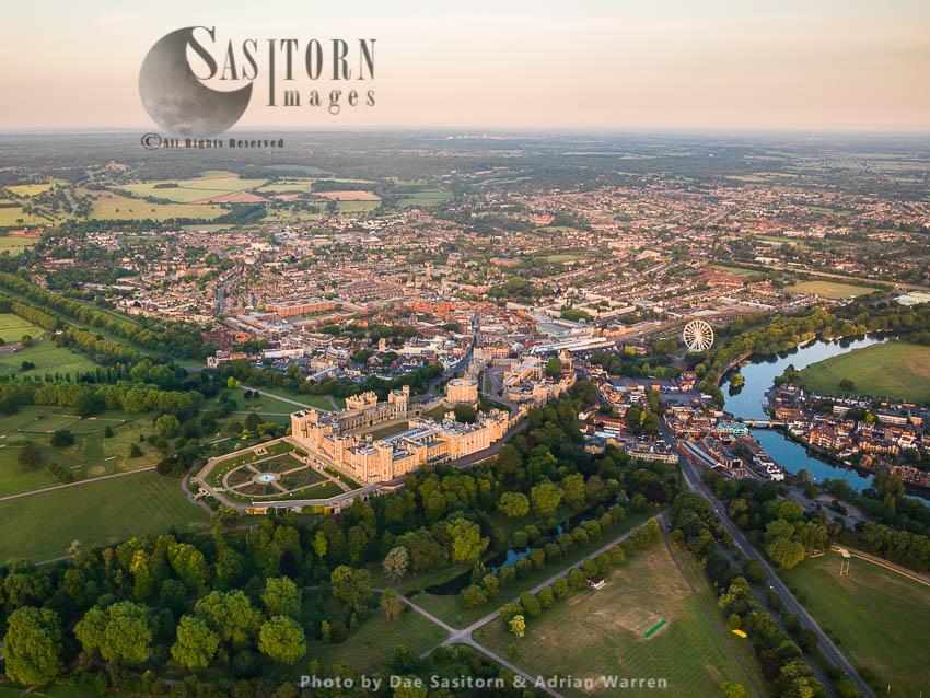 Windsor Castle, A Royal Residence And Windsor Historic Market Town, Berkshire, England