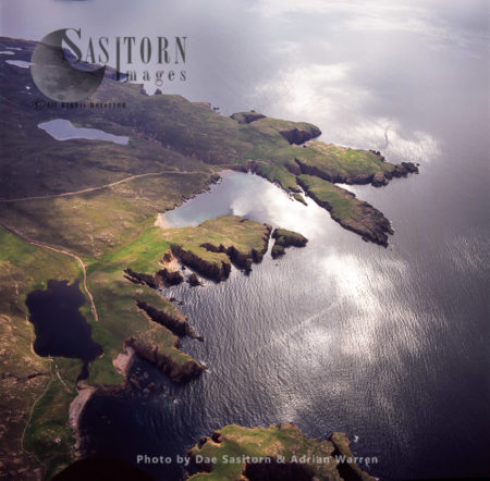 Muckle Roe Island, Saint Magnus Bay, To The West Of Mainland Shetland, Shetland Islands, Scotland