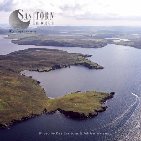 Papa Little, Shetland Islands, Scotland