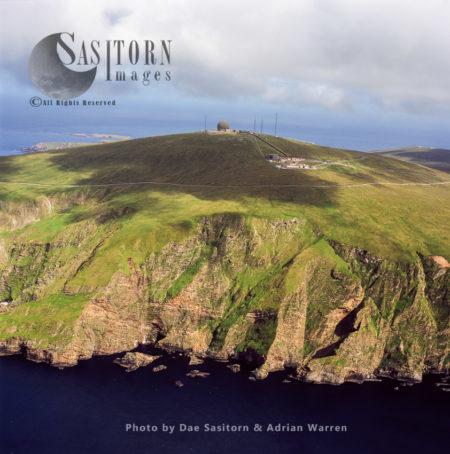 RAF Radar Station At Saxa Vord, Unst, Shetland Islands, Scotland