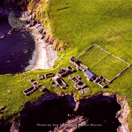 Ruined Village At South Havra, Now An Uninhabited Island, Scalloway Islands, Shetland Islands, Scotland